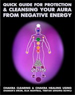 Quick Guide For Protection And Cleansing Your Aura From Negative Energy: Chakra Clearing And Chakra Healing Using Shaman's Drum, Bija Mantras, Tibetan Singing Bowls (Free Bonuses) - Book Cover