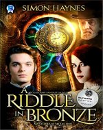 A Riddle in Bronze (Mysteries in Metal Book 1) - Book Cover