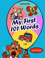 My First 101 Words - Book Cover
