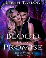 Blood of a Promise: A Forbidden Witch Romance (Kings of Sterling Book 1) - Book Cover