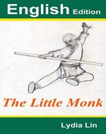 The Little Monk: English Edition - Book Cover