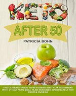 Keto After 50: The Ultimate Guide to Ketogenic Diet for Beginners with 21-Day Keto Meal Plan Designed Specifically for People Over 50 - Book Cover
