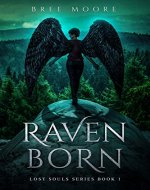 Raven Born: An Urban Fantasy Shifter Series (Lost Souls Series Book 1) - Book Cover