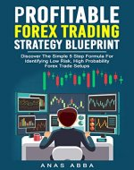 Profitable Forex Trading Strategy Blueprint (With Live Trade Examples Bonus Videos): Discover How To Identify Low Risk, High Probability Forex Trade Setups Like A Pro Trader! - Book Cover