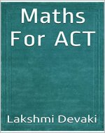 Maths For ACT - Book Cover