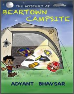 The Mystery at Beartown Campsite - Book Cover