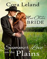 Summer Love on the Plains (Mail Order Bride Book 3) - Book Cover