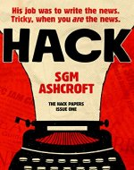 Hack: Dark British humour fiction series - Book Cover