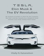 Tesla, Elon Musk and the EV Revolution: An in-depth analysis of what's in store for the company, the man, and the industry by a value investor and newly-minted Tesla owner - Book Cover