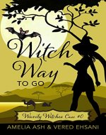 Witch Way To Go: A Cozy Mystery (Wavily Witches Book 1) - Book Cover