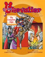 CHEVALIER The Queen's Mouseketeer: The Complete Saga (A Fairy Tale Fantasy Adventure Books for Kids for Bedtime and Storytime) - Book Cover