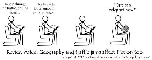Geography and traffic?