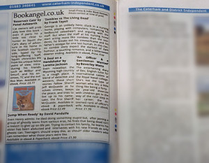 Bookangel reviews in Caterham and District Advertiser