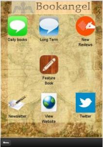 BookAngel App front page