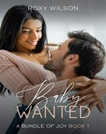 Baby Wanted: (BWWM Interracial Romance) (A Bundle of Joy Book 1) - Book Cover