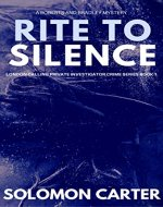Rite To Silence: London Calling Private Investigator Crime Thriller Series Book 1 - Book Cover