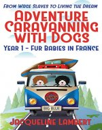 Year 1 - Fur Babies in France: From Wage Slaves to Living the Dream (Adventure Caravanning with Dogs) - Book Cover