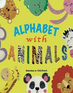 Alphabet with animals: from A to Z - Book Cover