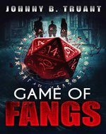 Game of Fangs: A Vampire Horror-Comedy Novel - Book Cover