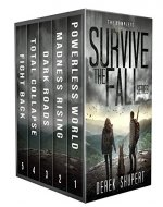 The Complete Survive the Fall Series (A Post Apocalyptic Survival Thriller, Books 1-5) - Book Cover