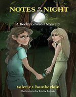 Notes in the Night: A Becky Lawson Mystery - Book Cover